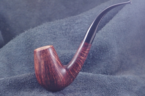 Pipe Pierre Morel B. BENT FL.GRAIN EBO