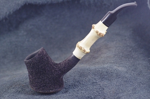 Pipe Pierre Morel MINI VOLCANO DUO EBO