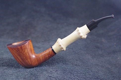 Pipe Pierre Morel STRAIGHT GRAIN EBO
