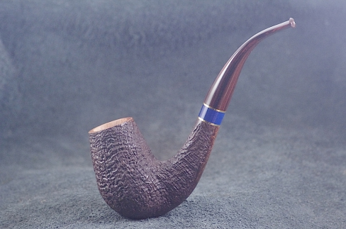 Pipe Pierre Morel BENT LAQUE DE CHINE CUMBERLAND