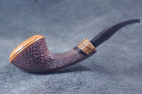 Pipe Pierre Morel BULLCAP AA DUO ,SITTER,ACRY.
