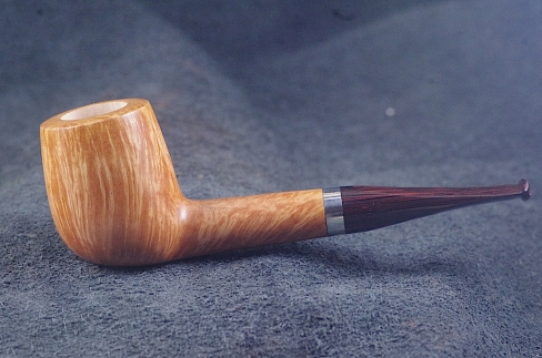 Pipe Pierre Morel CHUBBY AA SILVER SITTER CUMBERLAND