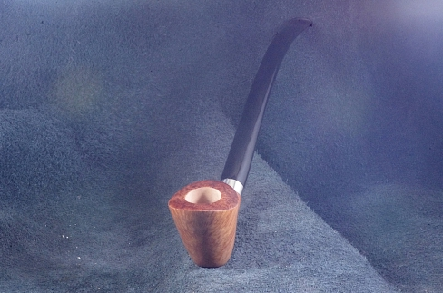 Pipe Pierre Morel CHURCHWARDEN SILVER SITTER ACRY9 mm