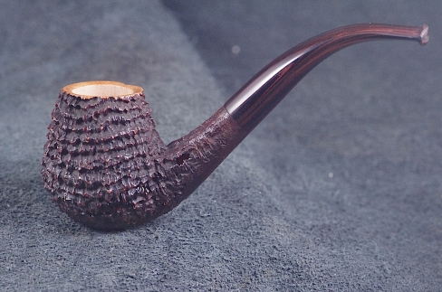 Pipe Pierre Morel BENT CLASSIC RINGS CUMBERLAND