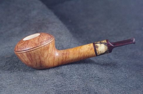 Pipe Pierre Morel STRAIGHT BULLCAP STR.GRAIN CUMBERLAND