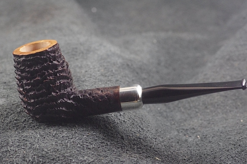 Pipe Pierre Morel NEO SILVER SITTER EBO ARMY.
