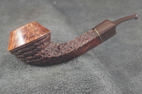 Pipe Pierre Morel BULLDOG AA DUO CUMBERLAND SADDLE