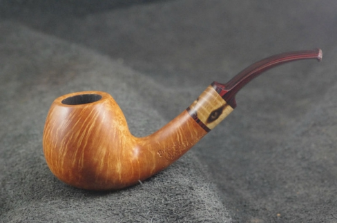Pipe Pierre Morel BENT BRANDY CUMBERLAND 9 mm.