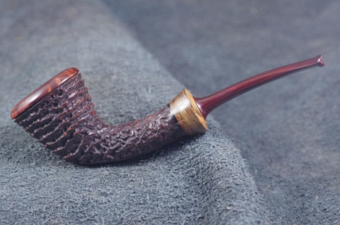 Pipe Pierre Morel DUBLIN LIGHT SITTER BOCOTE CUMBERLAND