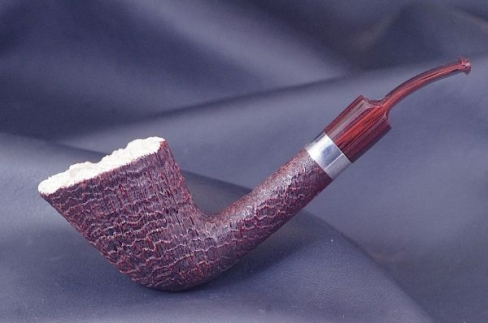 Pipe Pierre Morel AA silver cumberland