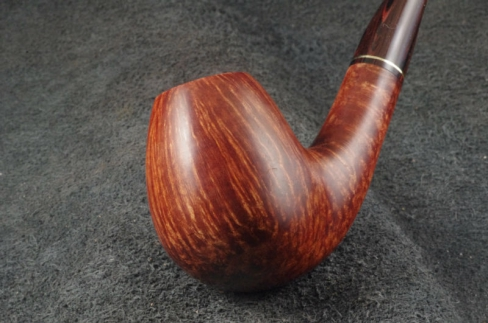 Pipe Pierre Morel EGG AA FLAME GRAIN CUMBERLAND