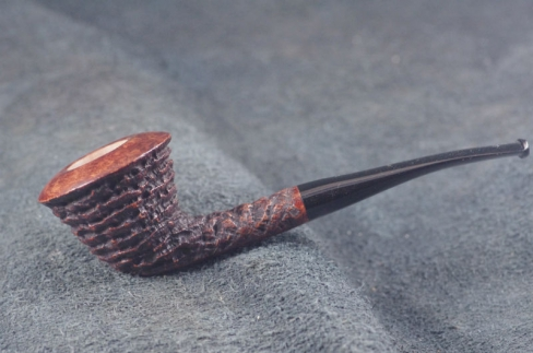 Pipe Pierre Morel FLAT DUBLIN DUO EBONITE