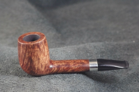 Pipe Pierre Morel OVAL SILVER LEVEL ACRY.