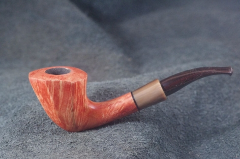 Pipe Pierre Morel MINI PANEL AA CORNE CUMBERLAND