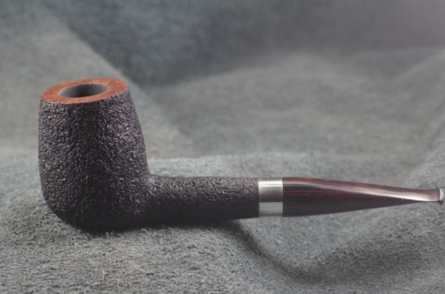 Pipe Pierre Morel BIG NEO SILVER SITTER CUMBERLAND