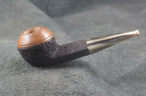 Pipe Pierre Morel BULLDOG DUO CORNE 9 mm